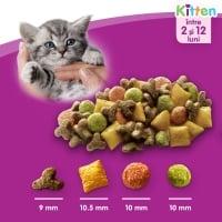 WHISKAS Junior, Pui, hrană uscată pisici junior, 14kg
