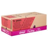 WHISKAS Selecții Clasice, 4 arome, pachet mixt, plic hrană umedă pisici, (în sos), 100g x 4