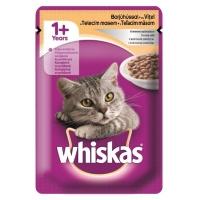 Whiskas Vitel in Sos Alb 100 g