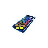 Acuarele 735 SP/12, 12 culori detasabile, cutie opaca magenta