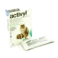 Activyl Pisica >4kg, 4 pipete