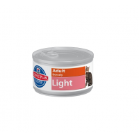 Pachet 5 Conserve Hill's SP Feline Adult Light 85 g