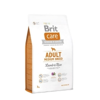 Brit Care Adult Medium Breed Miel si Orez 3 kg