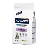 Advance Cat Adult Hairball Curcan si Orez 1.5 kg
