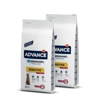 Pachet 2 x Advance Dog Adult Miel si Orez 12 kg