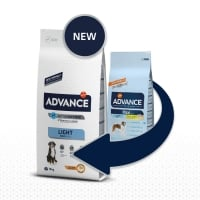 Advance Dog Maxi Adult Light, 15 kg