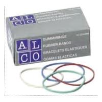 Elastice pentru bani, D 40, 1000g/cutie, ALCO