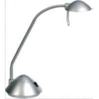 Lampa de birou cu brat flexibil, 20W  - halogen, ALCO - argintie