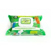 Servetele Umede Leo Pet Aloe Vera, 40 buc