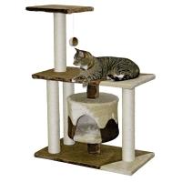 Ansamblu De Joaca Pentru Pisici Kerbl Jade Pro, Bej, 96 Cm