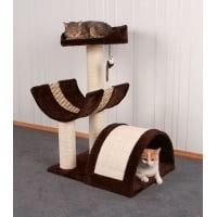 Ansamblu de Joaca pentru Pisici Kerbl Safari, 38 x 38 x 60 cm, Maro