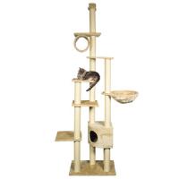 Ansamblu de Joaca pentru Pisici Madrid Bej 245 - 270 cm