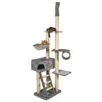 Ansamblu de Joaca pentru Pisici Zaragoza Gri 220 - 260 cm