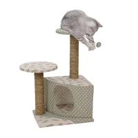 Ansamblu pentru Pisici Miau Miau Twin New Fashion 45*49*84 cm