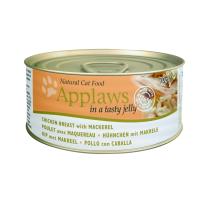Applaws Cat Adult Piept de Pui si Macrou in Aspic Conserva 70 g