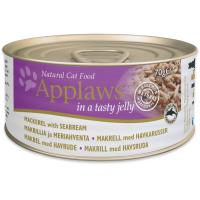 Applaws Cat Adult Macrou si Dorada in Aspic Conserva 70 g