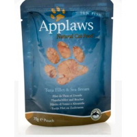 Applaws Cat Adult File de Ton si Dorada Plic 70 g