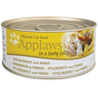 APPLAWS CAT ADULT PIEPT DE PUI SI MANGO IN ASPIC CONSERVA 70 G