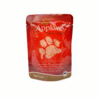 Pachet 6 Plicuri Applaws Cat Adult File de Ton si Creveti Plic 70 g