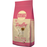 Pachet 2 x Araton Dog Adult Mini&Medium 15 kg