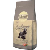 Pachet 2 x Araton Dog Adult Somon & Orez, 15 Kg