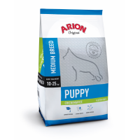 Arion Original Puppy Medium cu Pui si Orez, 12 kg