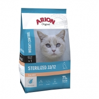 Arion Original Cat Sterilised cu Somon 2 kg