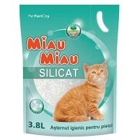 Nisip Miau Miau Silicat, 3.8 L