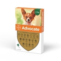 Advocate Caine, 1-4 kg, 3 pipete