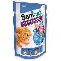 Asternut Igienic Sanicat Clumping Color 4You Fara Parfum, 5 L