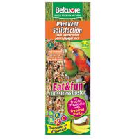 Belcuore Baton Papagali Mici cu Fructe Tropicale 115 g / 2 bucati