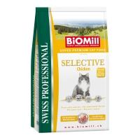 Biomill Cat Selective cu Pui 10 kg