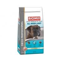 Biomill Swiss Professional Toate Rasele Light, 12 kg