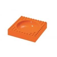 Bol Hranire Placematix Pentru Copii, Orange