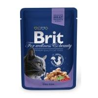 BRIT Premium, Cod, plic hrană umedă pisici, (în sos), 100g
