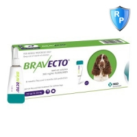 Bravecto Spot On Dog 500 mg, 10-20 kg, 1 pipeta