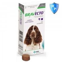 BRAVECTO, comprimate masticabile antiparazitare, câini 10-20kg, 500 mg, 1 comprimat