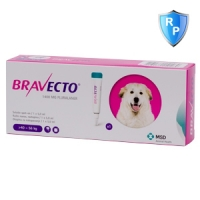 Bravecto Spot On Dog 1400 mg, >40-56 kg, 1 pipeta