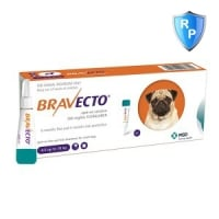 Bravecto Spot On Dog 250 mg, 4.5-10 kg, 1 pipeta