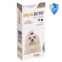 BRAVECTO, comprimate masticabile antiparazitare, câini 2-4.5kg, 50 mg, 1 comprimat