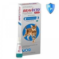 Bravecto Plus Spot On Cat 2.8-6.25 kg, 250 mg, 1 pipeta
