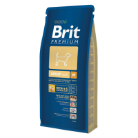 Brit Premium Adult M, 15 kg
