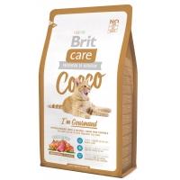 BRIT CARE CAT COCCO GOURMAND CU RATA 7 KG