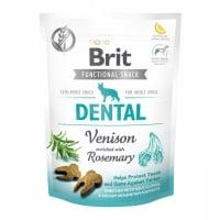 BRIT Care Functional Snack Dental, Vânat cu Rozmarin, recompense funționale fără cereale câini, sensibilități dentare, 150g