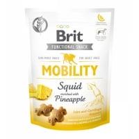 BRIT Care Functional Snack Mobility, Calamar cu Ananas, recompense funționale fără cereale câini, sensibilitati articulare, 150g