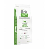 Brit Care Grain-Free Adult Large Breed Somon si Cartofi, 12kg
