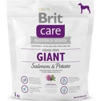 Brit Care Grain0Free Giant Somon si Cartofi, 3 kg