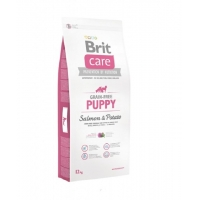 Brit Care Grain Free Puppy Somon si Cartofi, 12kg