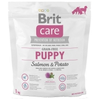 Brit Care Grain-Free Puppy Somon si Cartofi, 1 kg