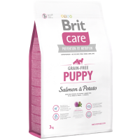 Brit Care Grain-Free Puppy Somon si Cartofi, 3 kg